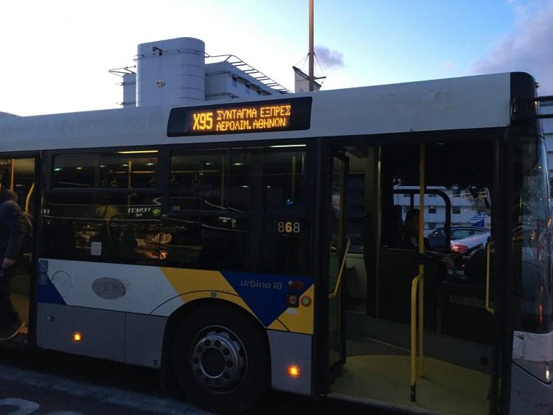 autobus Atena