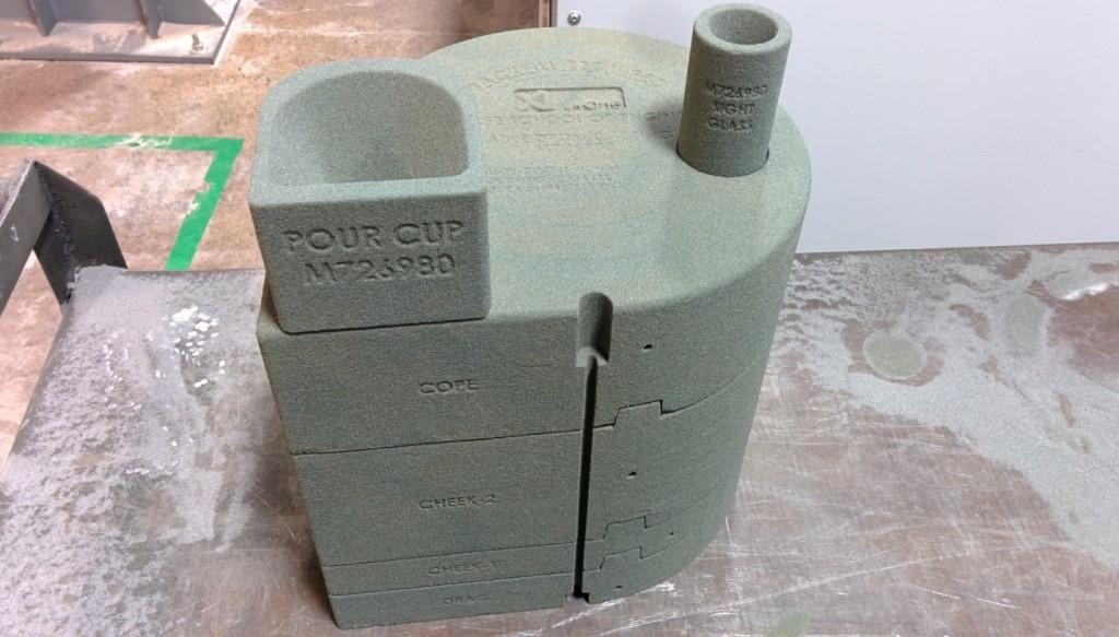 3d Sand Molds
