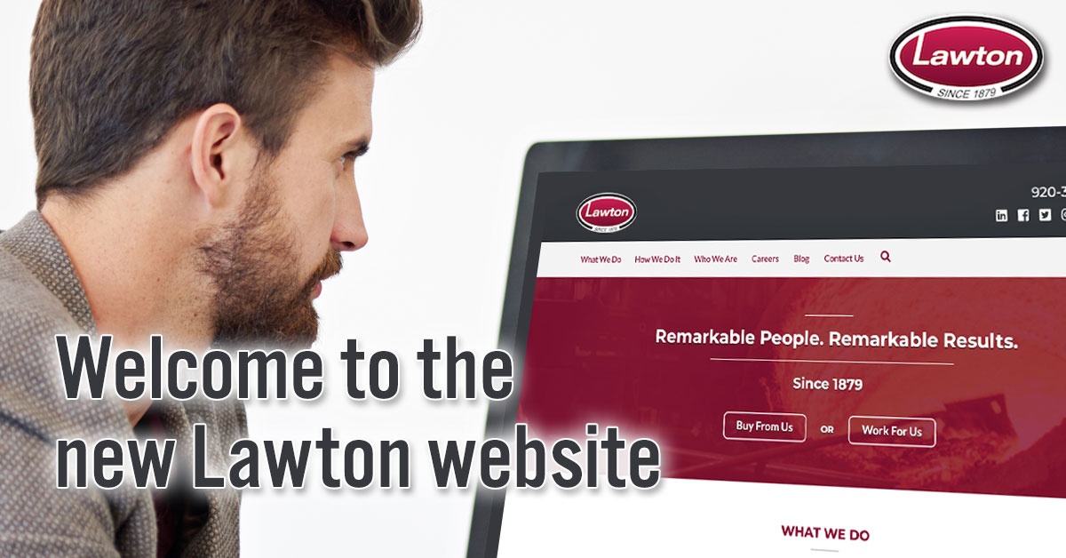 New Lawton website