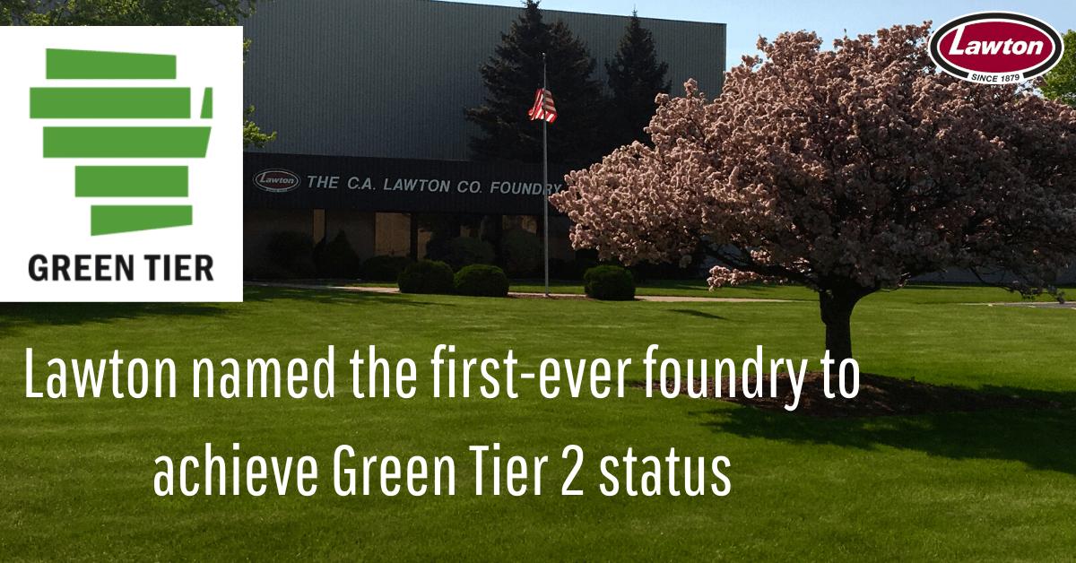Lawton named Green Tier 2