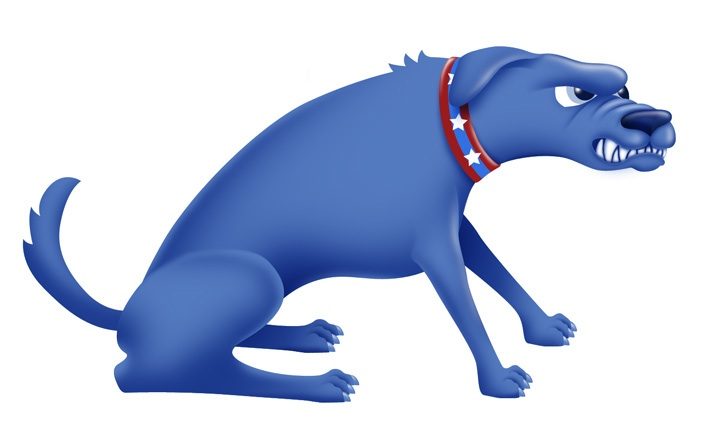 dog_snarling