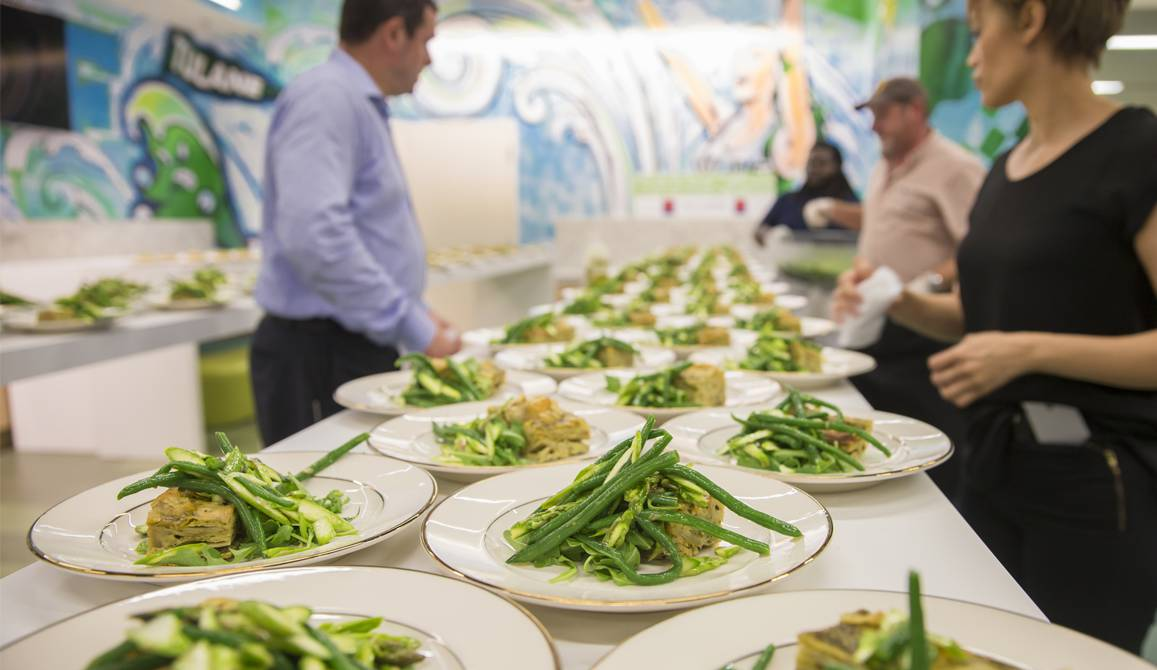 Calcasieu Rooms hors d'oeuvres