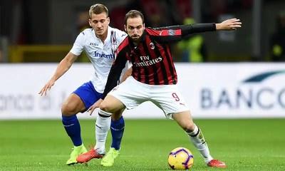 Gonzalo-Higuain-Dennis-Praet-Milan-Sampdoria