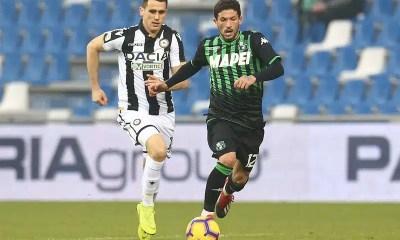 Sensi Lasagna Sassuolo-Udinese