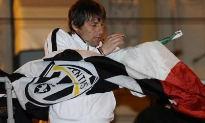 Festa scudetto Juventus Antonio Conte