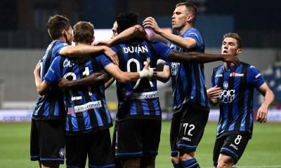 esultanza gol giocatori Atalanta