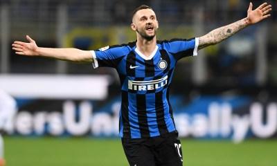 Esultanza Marcelo Brozovic Inter