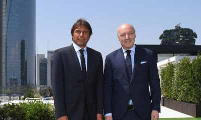 Antonio Conte Giuseppe Marotta Inter