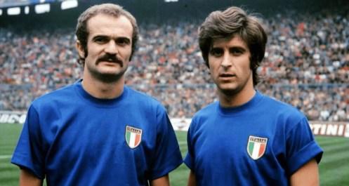 Sandro Mazzola Gianni Rivera Nazionale italiana