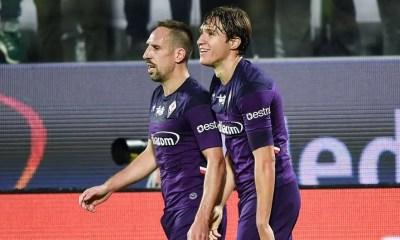 Federico Chiesa-Franck Ribery Fiorentina