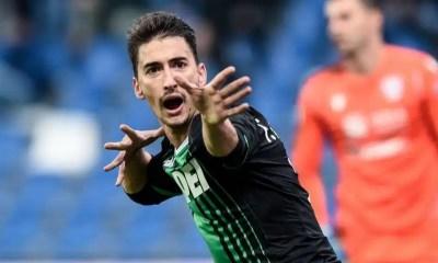 esultanza gol Filip Djuricic Sassuolo