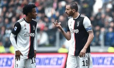 Juan Cuadrado-Leonardo Bonucci Juventus