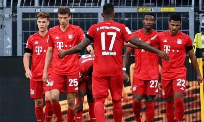 Esultanza gol Bayern Monaco