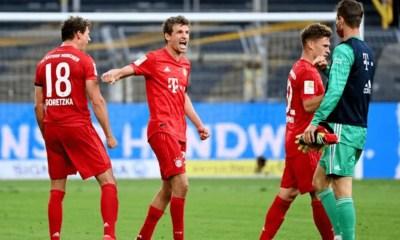 Esultanza gol giocatori Bayern Monaco