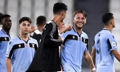 Ciro Immobile-Cristiano Ronaldo Juventus-Lazio
