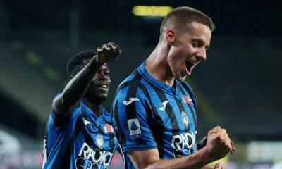 Esultanza gol Mario Pasalic Atalanta