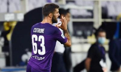 Esultanza gol Patrick Cutrone Fiorentina