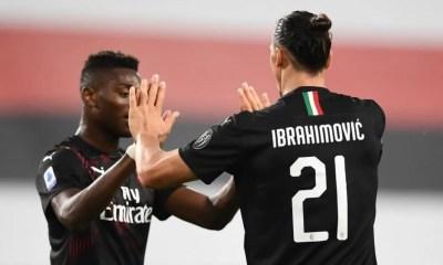 Zlatan Ibrahimovic-Rafael Leao Milan
