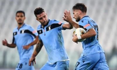 esultanza gol Ciro Immobile Milinkovic-Savic Lazio