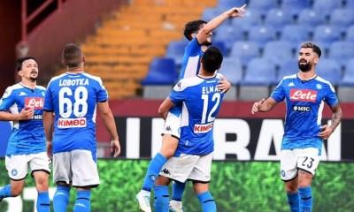 esultanza gol Dries Mertens Napoli