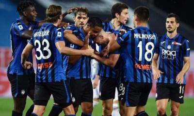 esultanza gol Luis Murie Atalanta