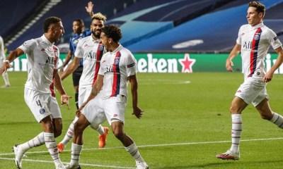 Esultanza gol PSG