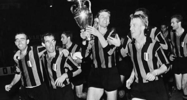 Festeggiamenti Inter Coppa dei Campioni 1963-64
