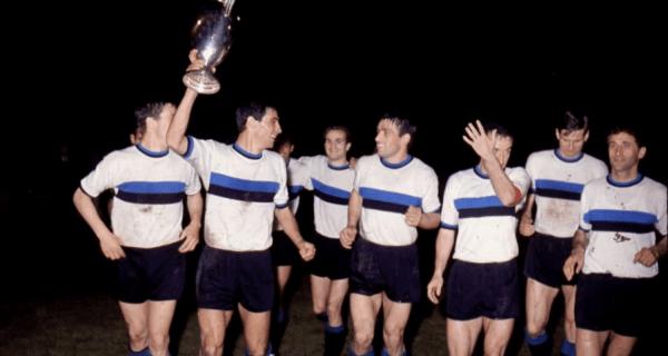 Festeggiamenti Inter Coppa dei Campioni 1964-65