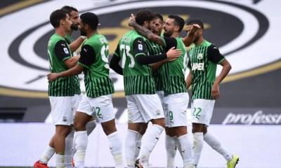 esultanza gol Caputo Sassuolo