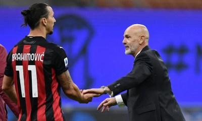 Zlatan Ibrahimovic-Stefano Pioli Milan