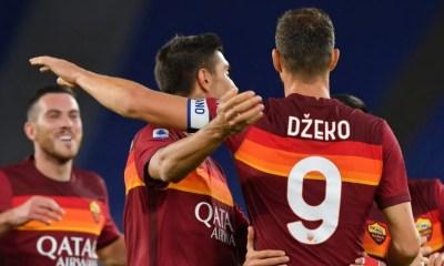 esultanza gol Edin Dzeko Roma