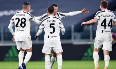Demiral Arthur Kulusevski Ronaldo Juventus