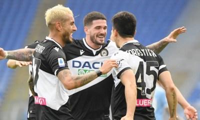 Esultanza giocatori Udinese