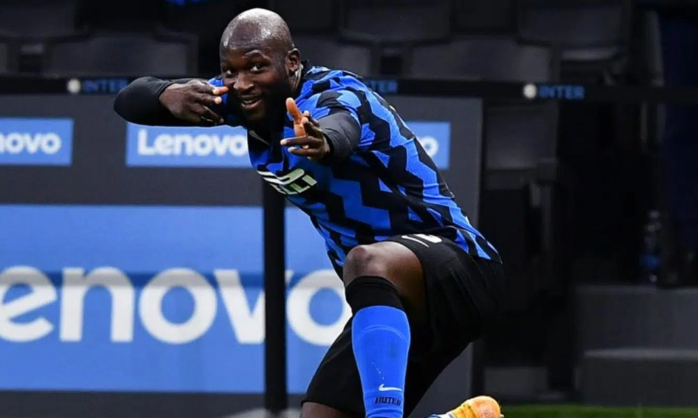 Romelu Lukaku esultanza gol Inter