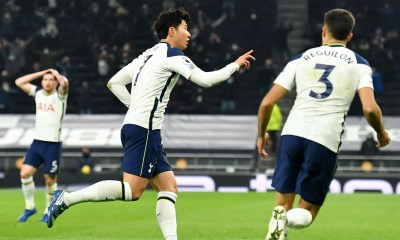Esultanza Son Tottenham Premier League