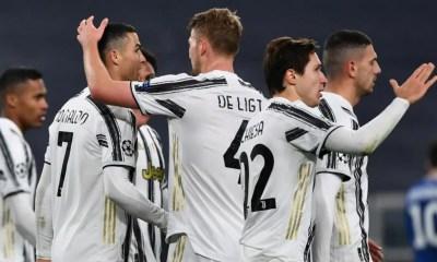 Esultanza gol Juventus Ronaldo
