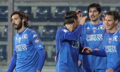 Esultanza gol giocatori Empoli