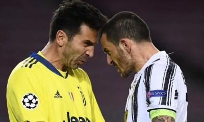 Leonardo Bonucci-Gianluigi Buffon Juventus