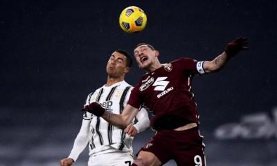 Ronaldo-Andrea Belotti Juventus-Torino