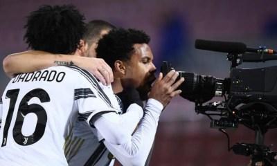Weston McKennie Telecamera Juventus