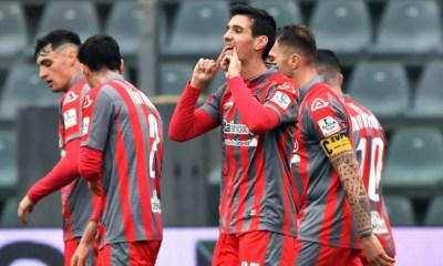 esultanza gol Marco Pinato Cremonese Serie B