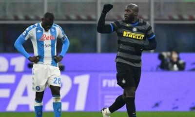 esultanza gol Romelu Lukaku Inter-Napoli