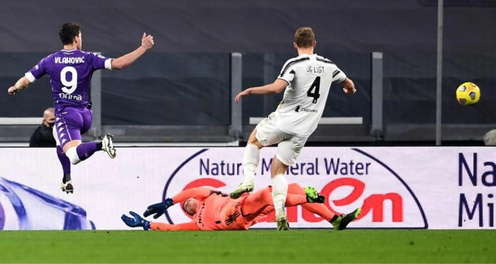 gol Dusan Vlahovic Fiorentina