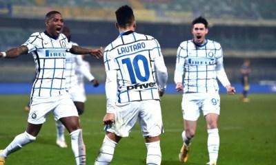 Esultanza gol Lautaro Martinez Young Inter