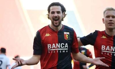 Esultanza gol Mattia Destro Genoa