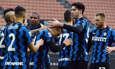 Esultanza gol giocatori Inter