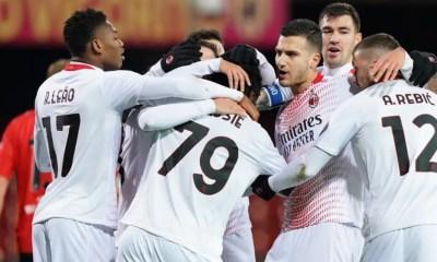 Esultanza gol giocatori Milan