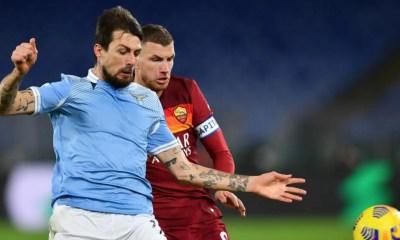 Francesco Acerbi-Edin Dzeko Lazio-Roma