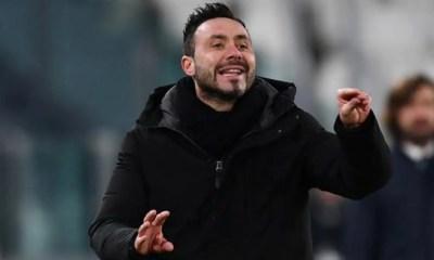 Roberto De Zerbi allenatore Sassuolo