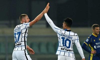 Skriniar Lautaro Martinez Inter